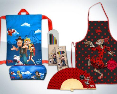 Merchandising Tadeo Jones - PortAventura
