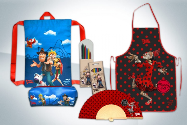 Merchandising Tadeo Jones - PortAventura