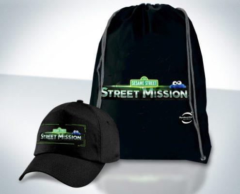 Gorra y petate Street Mission - PortAventura