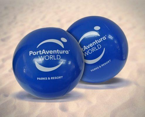 Pelota hinchable PortAventura